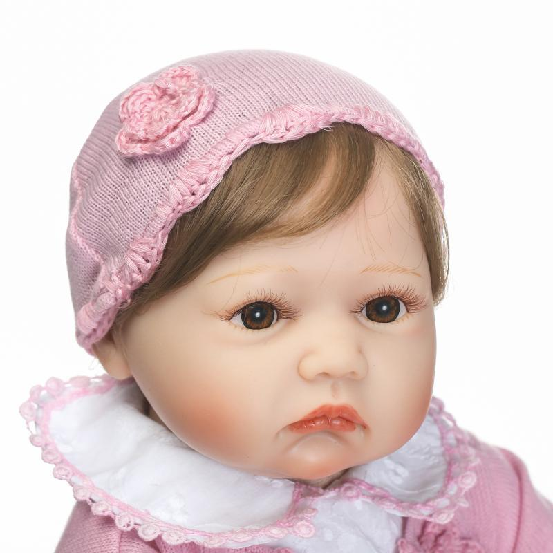 Hot Selling Christmas Gift Model Infant GIRL'S Play House Toys Reborn Baby Doll Creative Gifts