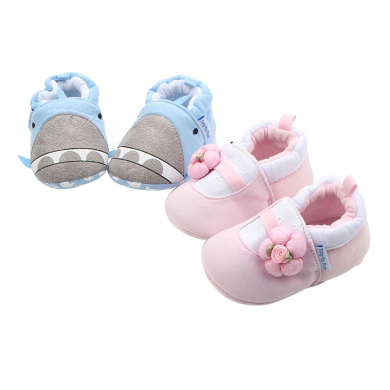 Newborn Baby Shoe Classical Checkered Toddler First Walkers Boy Girl Soft Sole Cotton Soft Casual Sports Walking Crib Shoes