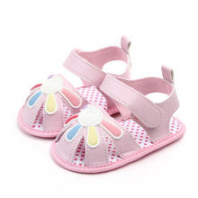 Summer Shoes Sandals Soft-Sole Toddler Baby-Girl Infant Non-Slip Pu I-Love-Daddy Mummy