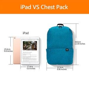 Image 5 - Xiaomi mochila para hombre, mujer y niño, 10L, colorida, nueva aplicación multiusos, cómoda para los hombros
