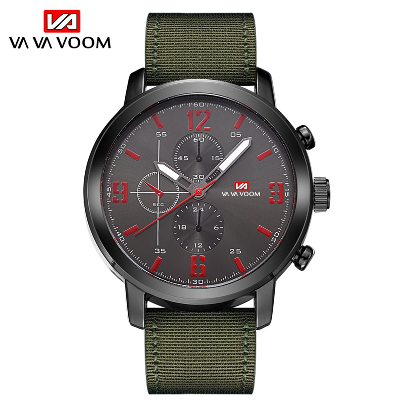 Fashion Mens Watches Top Luxury Brand Waterproof Clock Men Sports Military Watches Quartz Male Wristwatch reloj deportivo hombre in Quartz Watches from Watches