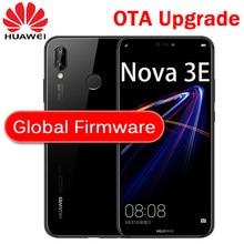 Huawei P20 Lite globalne oprogramowanie układowe NOVA 3E Smartphone twarz ID 5.84 calowy pełny ekran Android 8.0 szklany korpus 24MP przedni aparat