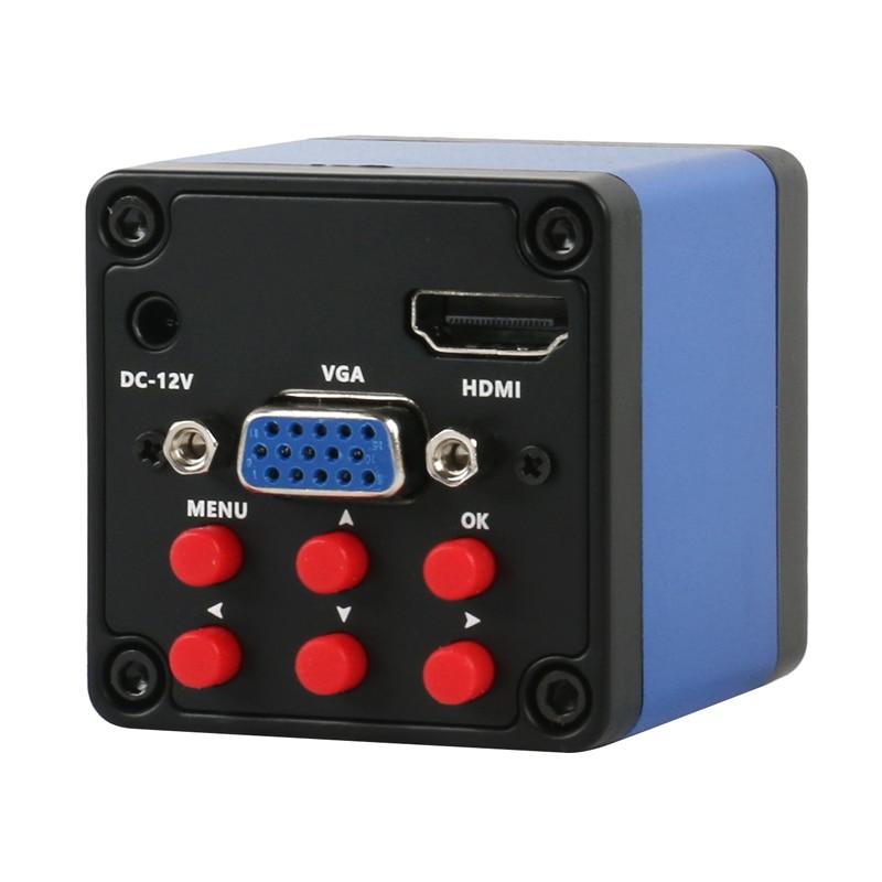2020 HDMI VGA mise à niveau 1080P SONY IMX307 industrie vidéo Microscope caméra C montage pour PCB observer soudure réparation