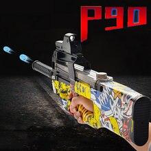Новинка P90 Электрический бластер Orbiz игрушечные пистолеты 7-8 мм водяной гелевый шар пуля CS винтовка снайперское оружие пистолет забавные ул...
