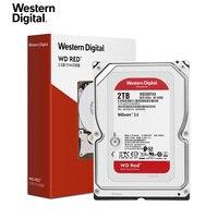 Memória de disco rígido western digital para decktop, solid drive wd red nas de 2tb, 3tb, 4tb,-5400 rpm, classe sata 6 gb/s, 256 mb de cache 3.5