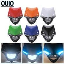 Мотоциклетная маска на фару для ktm 12 В обтекатель мотокросса