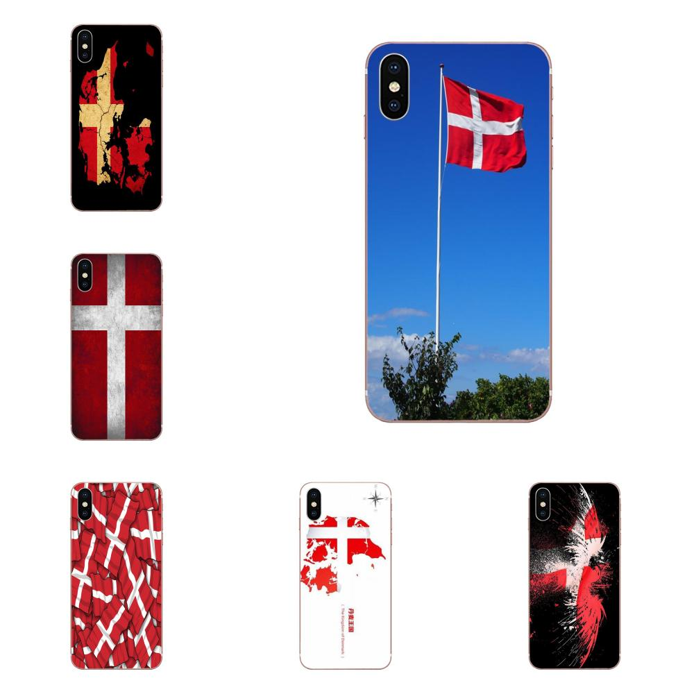 Danmark Flag For HTC Desire 530 626 628 630 816 820 830 One A9 M7 M8 M9 M10 E9 U11 U12 Life Plus Soft TPU Fashion Case Cover