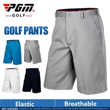 Pgm Men's Shorts Summer Elastic Thin Golf Shorts Male Breathable Casual Tennis Short Pants Outdoor Sportswear XXS~XXL