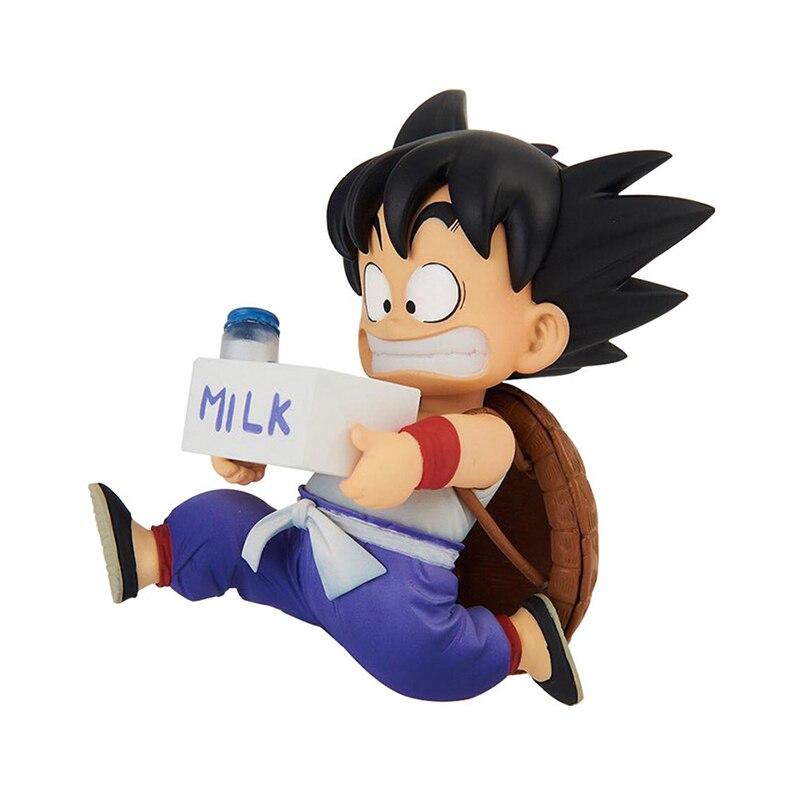 Dragon Ball Z BWFC2 SC Goku lait d'enfance Figurine en PVC modèle Jouets DBZ enfant Goku Figurine Jouets