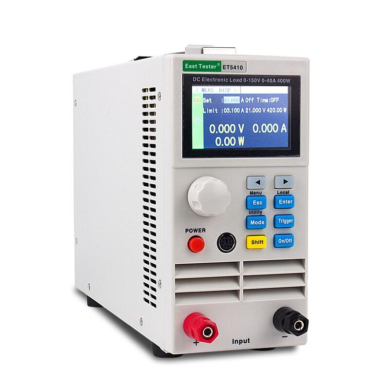 DANIU KP184 DC электронный тестер емкости батареи RS485/232 400 Вт 150 в 40A AC110/220 В профессиональный тестер батареи - 3