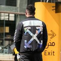 New large jacket men fat plus size arrow print coat tide loose shirt