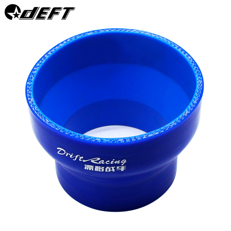 DEFT 3-3.5 76mm-89mm Turbo Intake Silicone Straight Reducer Hose Pipe Coupler 4-ply For BMW E30 M20 325 image
