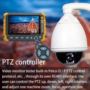 Image 4 - 2019 Upgraded IV8W 5 inch CCTV Tester Monitor 5MP 4MP TVI AHD CVI CVBS Security Camera Tester Support PTZ Audio VGA