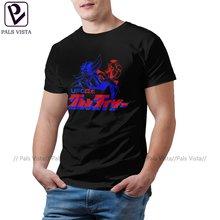 Goldorak Tee Shirt Funny Short Sleeves 100 Cotton T Shirt Streetwear Print Tshirt 6xl Men