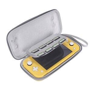 Image 4 - 닌텐도 스위치 라이트에 대 한 휴대용 슬림 케이스 스토리지 가방 콘솔 액세서리 여행 운반 케이스 파우치 Shockproof 가방