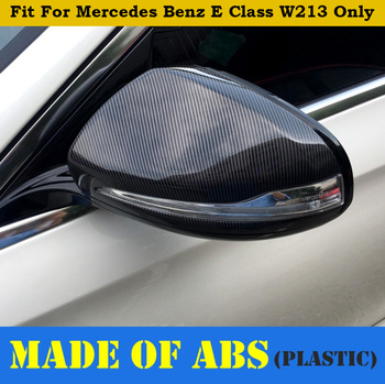 Accessories For Mercedes Benz E CLASS W213 2016 2017 2018 Outside Door Rearview Mirror Protector Shell Cover Housing Kit Matte