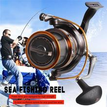Yumoshi 13+1BB Hot wheels Cheapest Spinning Reel Fishing Reel 1000-10000 Ball Bearing Reels molinete carretilhas de pesca yumoshi fishing spinning reel 6000 10000 13 1bb saltwater high profile upscale boutique cnc rocker arm spinning fishing reels
