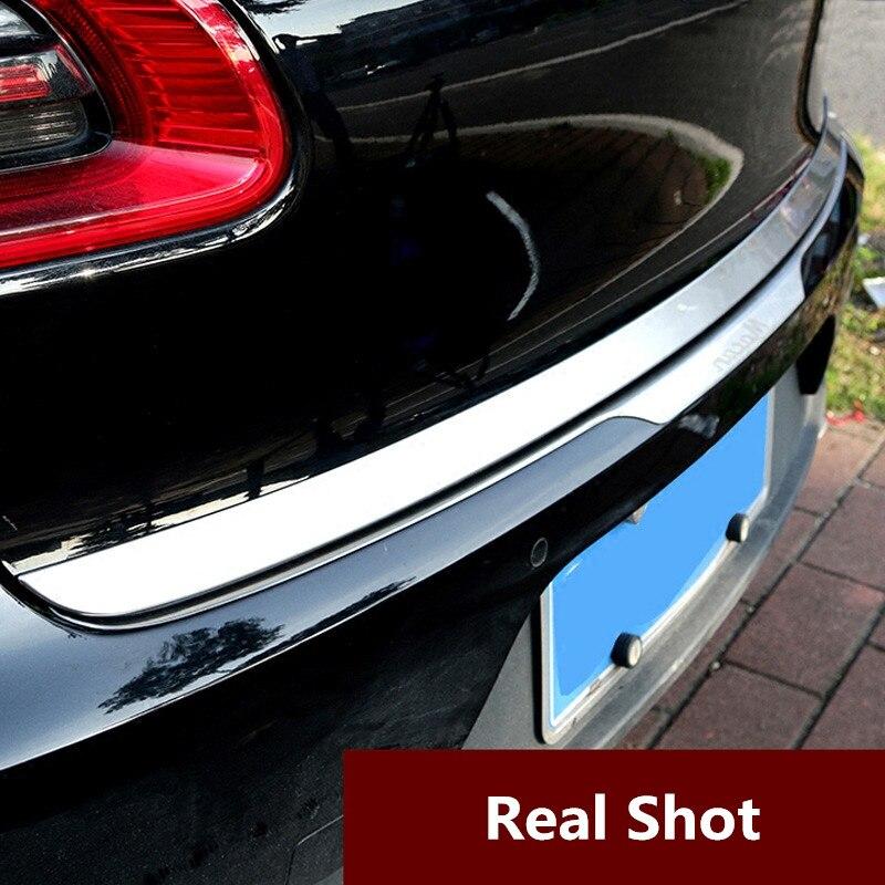 Автомобильный задний багажник откидной крышка дверца подъемные ворота декоративный молдинг отделка для Porsche Cayenne 2015 2016 2017 Macan 2014 2018