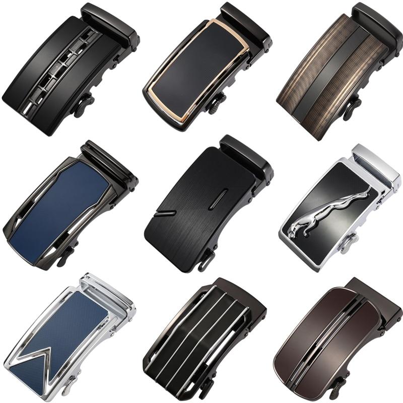New Genuine Men's Belt Head, Belt Buckle Men Leisure Belt Head Business Accessories Automatic Buckle Width 3.5CM LY125-0229