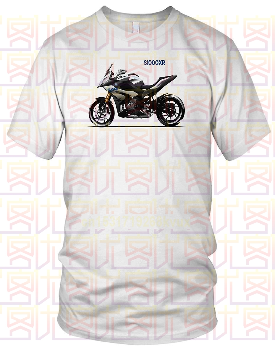 Bike S1000XR T Shirt S 1000 XR Motorcycle S1000 XR Moto S 1000XR T-shirt Mens Round Cotton Short Sleeves Fashion Tee 2019 image