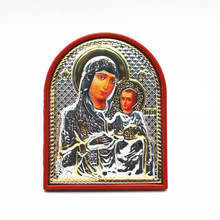 Orthodox icon Religious Virgin Mary and child as mother of Jesus Gold Plated beautiful crafts mother of Jesus for baby