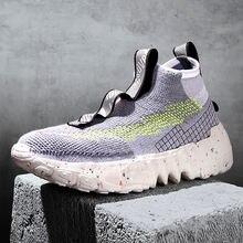 2020 зимняя спортивная обувь для мужчин Легкие беговые кроссовки