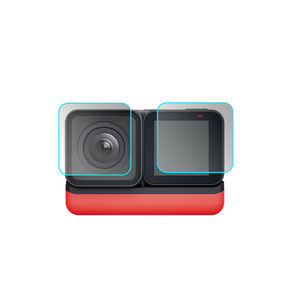 Image 3 - For Insta360 ONE R Twin Edition Tempered glasses Insta 360 ONE R 4k wide angle Camera Len Film Glass Protection Accessories