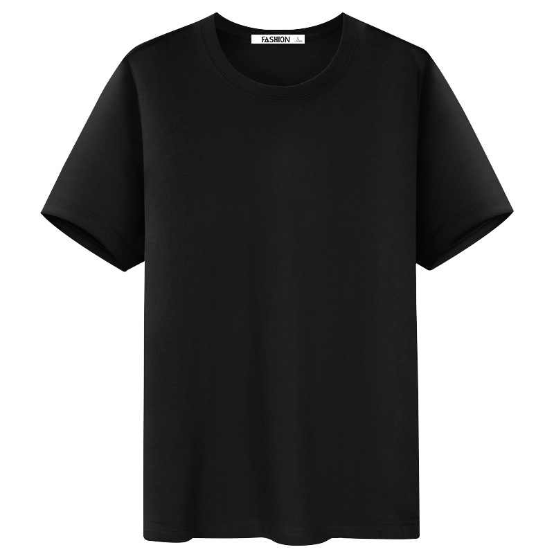 2020 뜨거운 판매 남자 티셔츠 짧은 소매 여름 느슨한 솔리드 컬러베이스 코트