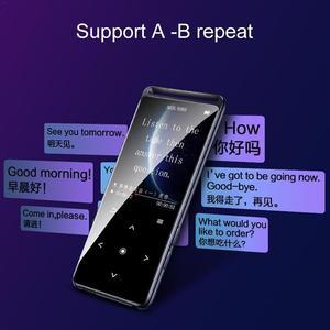 Image 2 - Ban Đầu Benjie M6 Bluetooth 5.0 Nghe Nhạc Lossless MP3 Người Chơi 16GB HIFI Âm Thanh Di Động Máy Nghe Nhạc Có Đài FM EBook Máy Ghi Âm