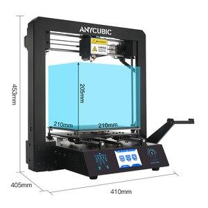 Image 4 - ANYCUBIC Mega S 3d принтер i3 Мега Модернизированный размера плюс TFT сенсорный экран Настольный FDM 3d Принтер Комплект impresora 3d stampante 3d