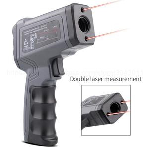 Image 4 - Non contact Infrared Thermometer  50~550/750/1100/1300/1600 degree Max/Min/Dif/Avg Measurement Industrial high temperature Gun