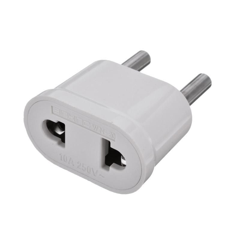 Onsale 1pc NOS EUA para a UE Europa Viagens AC Plug Power Adapter Branco ABS Parede Charger Power Converter Mayitr