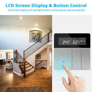 Image 5 - Zemismart Tuya wifi Thermostat for Electric Heater Water Radiant Floor Heating Alexa Google Home Enable Temperature Controlled