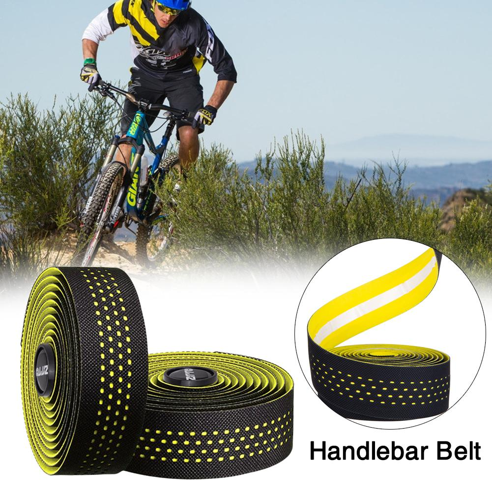 2pcs Bicycle Handlebar Tape Non-slip Steering Wheel Cover Road Bike Cycling