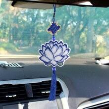 Цепочка для вышивки крестиком из бисера, Набор для вышивки крестом, подвеска для автомобиля, реквизит для фотосъемки, доступ к сумкам