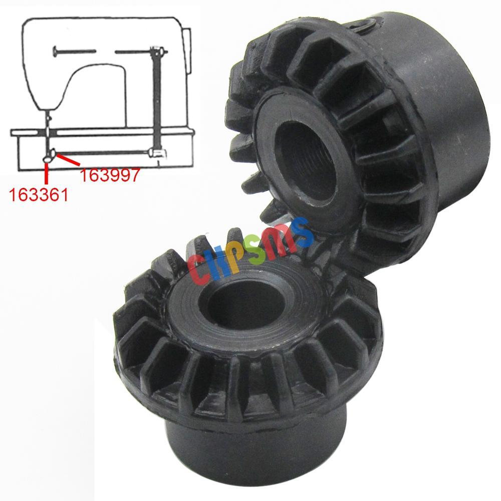 6412 6416 6423 Singer Hook /& Drive Gear Set Fits Models 6408