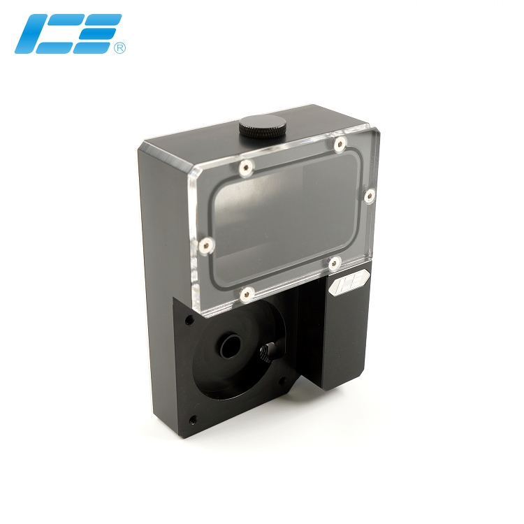 Iceman Cooler DDC Combo Res For Ncase Chasis M1 V4 V5 V6 Reservoir 125x89x41mm Black Transparent Water Tank Rectangle M1