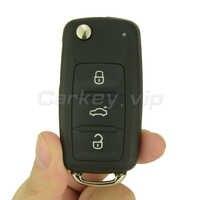 Auto di vibrazione chiave a distanza per VW Maggiolino Volkswagen Golf Eos Polo Sharan 2011 2012 2013 3 pulsante 5K0 837 202 AD ID48 434Mhz remotekey