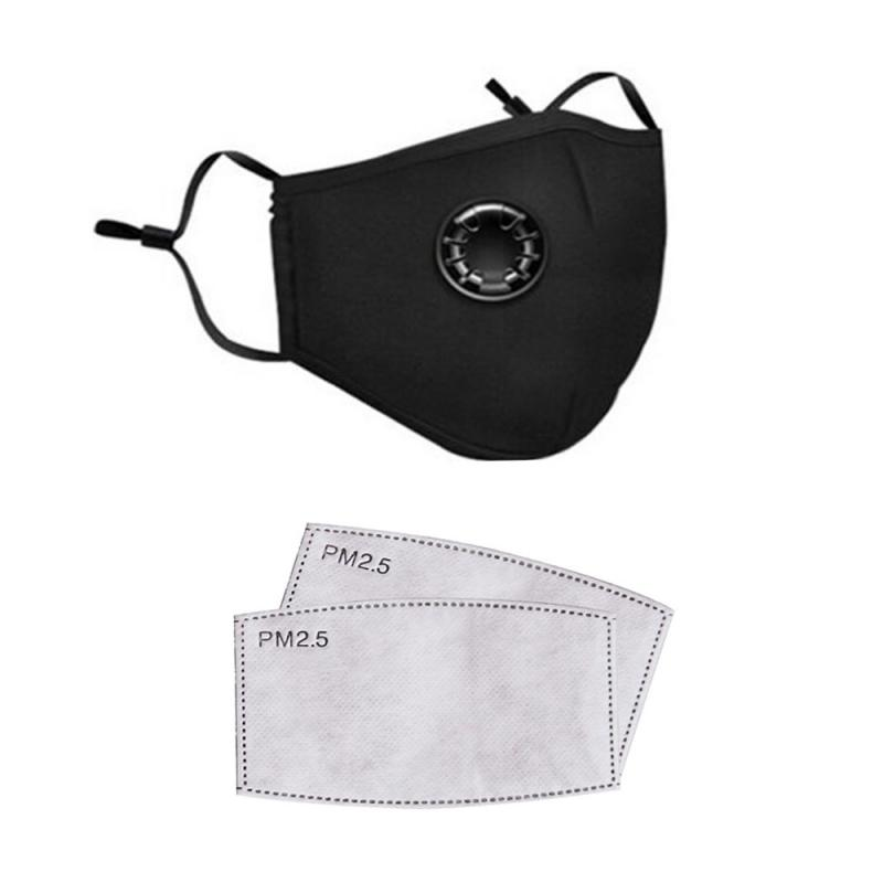 Reusable Anti Dust Face Mask Respirator Activated Cotton Mask Riding Sun Protection PM2.5 Filter Anti Dust Fog Breathable Masks
