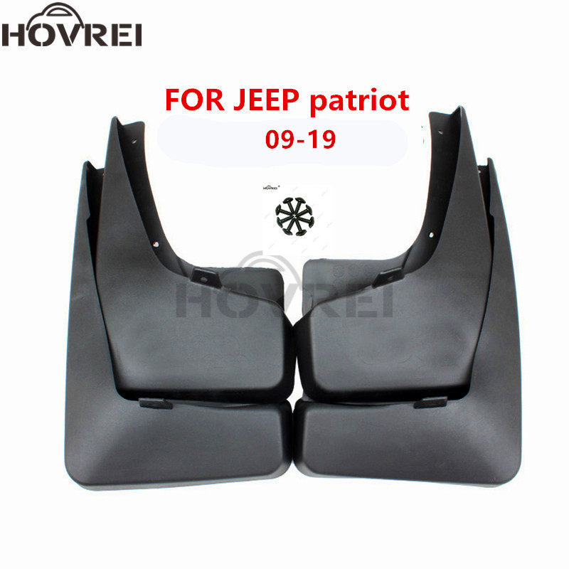4x Car Fender Flares Front Rear Splash Guards Mud Flaps Mudguards Mudflaps For Jeep For Patriot 2011 2012 2013 2014 2015 Mudguards Aliexpress