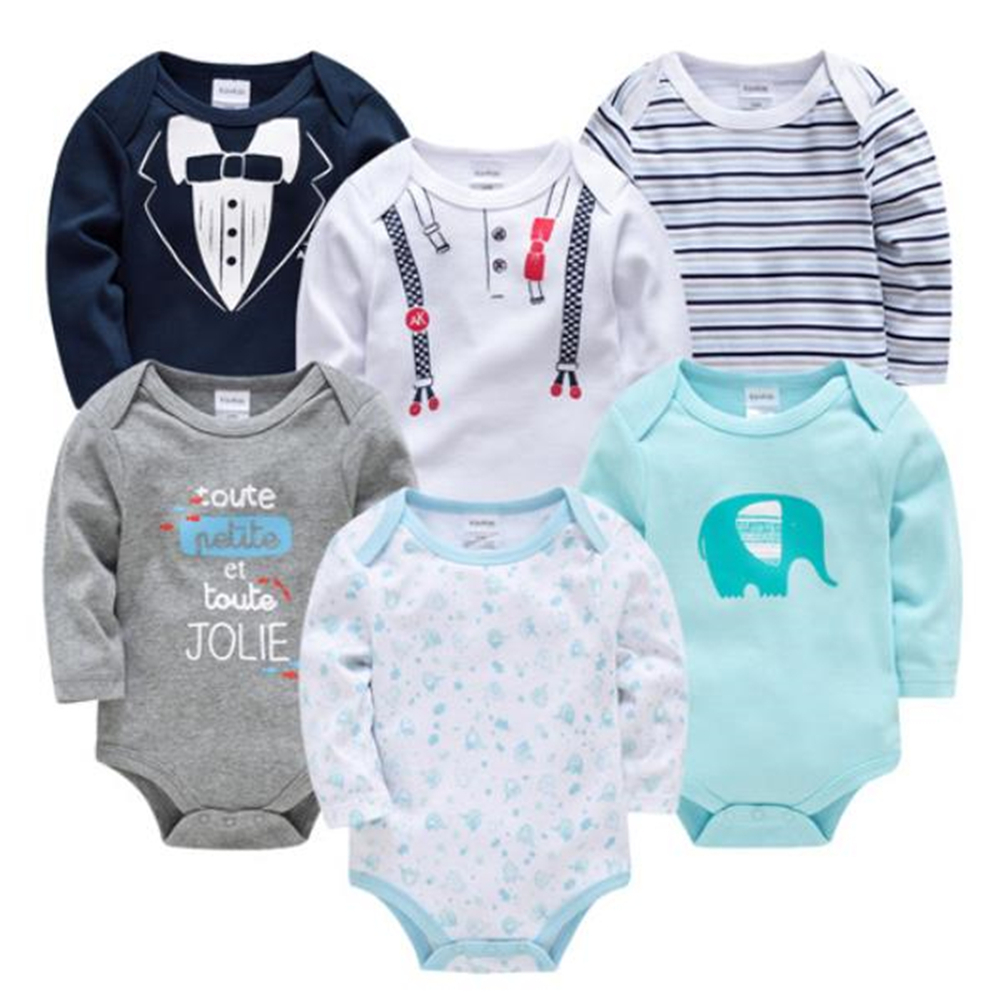 Butterfly Iron Toddler Baby Girls Rompers Long Sleeves Cotton Infant Newborns Jumpsuits Outfits Set for 0-18 Months