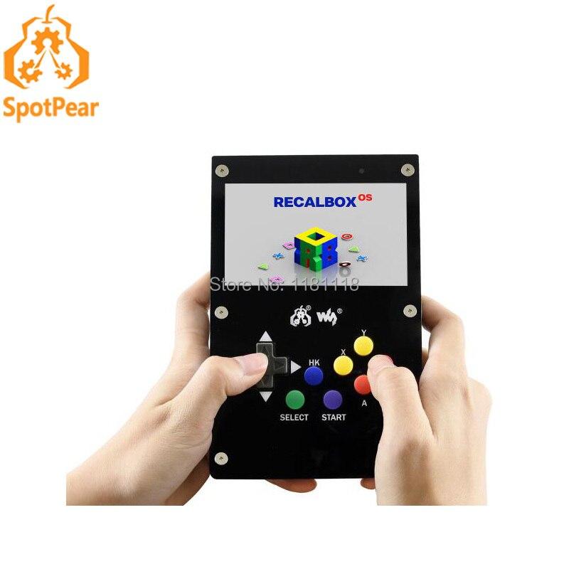 Raspberry Pi GamePi43 Portable Retro Video Game Console Based