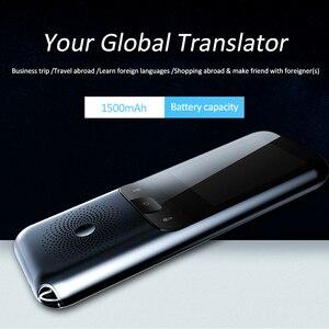 Image 5 - Traductor de voz inteligente portátil T11, 138 idiomas, Multi lenguaje, traductor interactivo fuera de línea, viajes de negocios