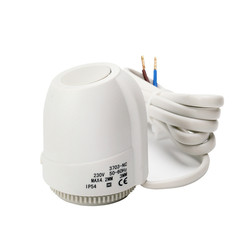 Floor Heating Valve NC AC 230V Electric Thermal Actuator Manifold For Underfloor Heating Thermostat