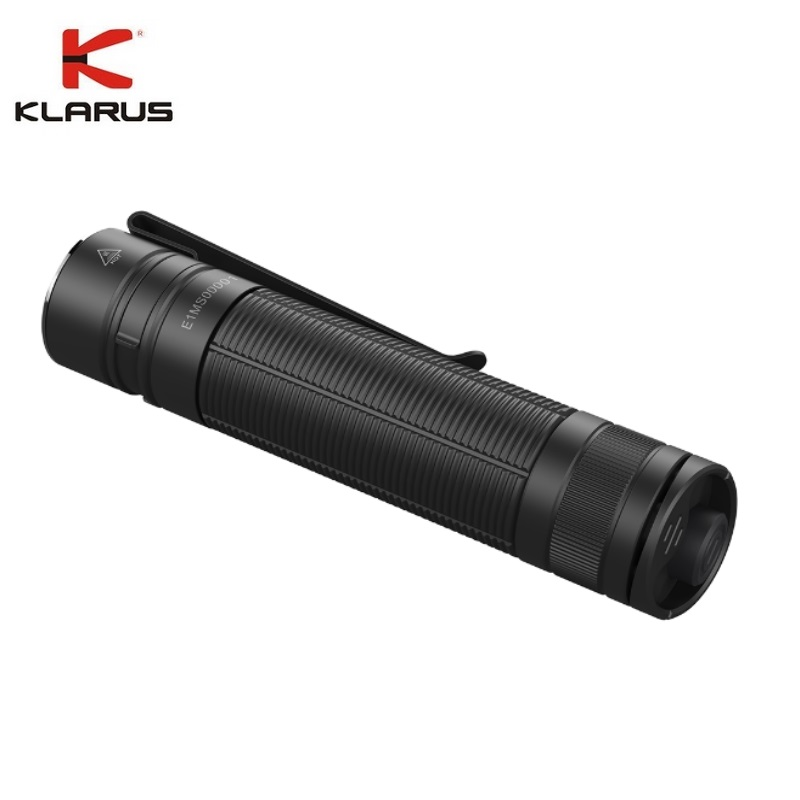 Klarus E1 Mini LED Flashlight CREE XP-L HI V4 1000LM Deep Carry Pocket Light With Recharge 18650 Battery For Camping Hiking