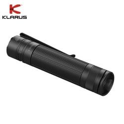 Mini Klarus E1 LED Taschenlampe CREE XP-L HALLO V4 1000LM Tiefe Tragen Tasche Licht mit Aufladen 18650 Batterie für Camping wandern
