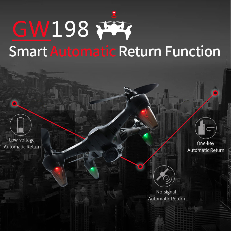 cheapest New Drone K20 GPS With 4K HD Dual Camera Brushless Motor WIFI FPV Drone Smart Professional Foldable Quadcopter 1800M RC Distance
