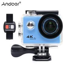 Andoer F71R Action Camera Digital 4K WiFi 1080P HD Action Camera Sports DV 30M Underwater Waterproof Helmet Cam Camera(China)
