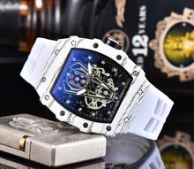 Richard luksusowe zegarki kwarcowe Mille zegarek męski automatyczny projektant męski zegarek wodoodporny Reloj Hombre tanie tanio ZHIMO Luxury ru QUARTZ STAINLESS STEEL Nie wodoodporne CN (pochodzenie) Klamra 20mm Hardlex Male watch 20inch Skórzane