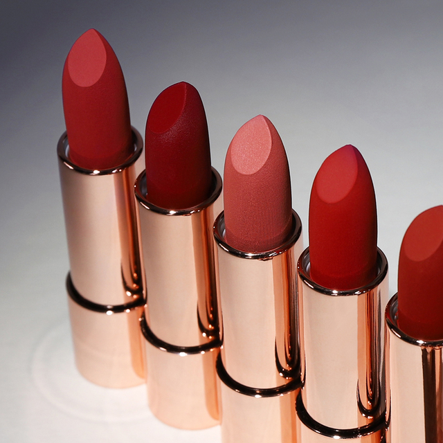 O TWO O New Arrival Lipstick Matte Waterproof Red Colors Moisturizing Waterproof Makeup Long Lasting Lips